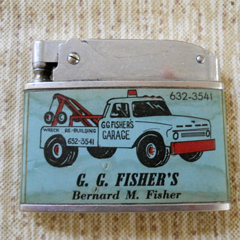 G.G. Fisher's Garage - Tobacciana