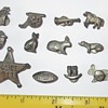 Unknown small antique metal novelty figures