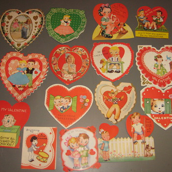 Valentines 1920s - Cards