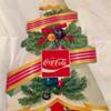 Antique Coca-Cola Die Cut Christmas Tree