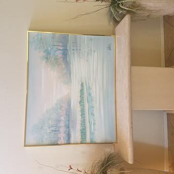 Lee Reynolds painting  - Fine Art
