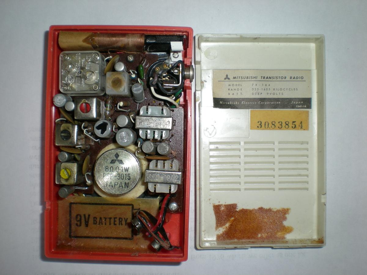 Mitsubishi Transistor Radio 1960s