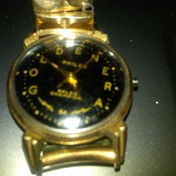 "Philco ""goldenera""  wrist watch - Wristwatches"