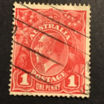 Old Australia stamp  - Stamps