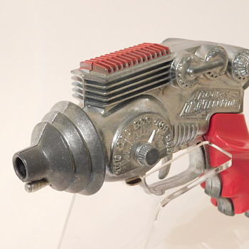 1954 Atomic Disintegrator by Hubley - Toys