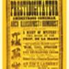 """Original 1877 """"De La Mano"""" Wood Cut Broadside"""