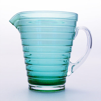 Jug designed by Aino Aalto (Iittala, 1990s- original from 1932) - Art Glass