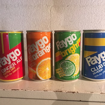 Foriegn Faygo Cans - Advertising