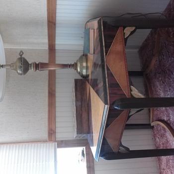 art deco center piece table - Furniture