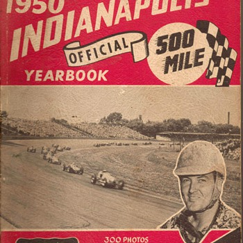 1950 - Indianapolis 500 Yearbook - Books