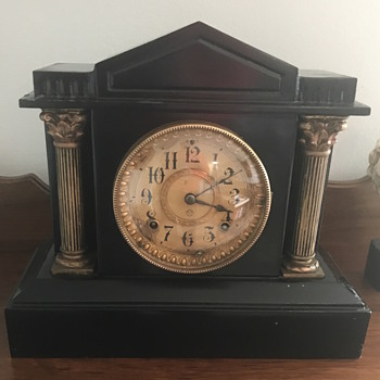 Ansonia 1882 mantel clock  - Clocks