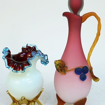 Victorian Pair - Art Glass