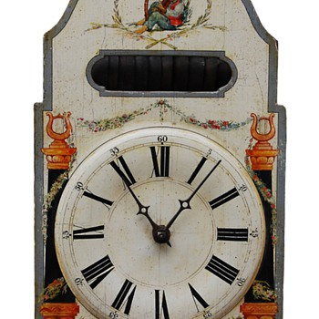 Rare Black Forest Musical Carillion Clock 6 tunes on 11 Bells C. 1820 - Clocks