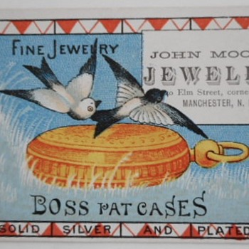 Trade Card - Pocket Watches
