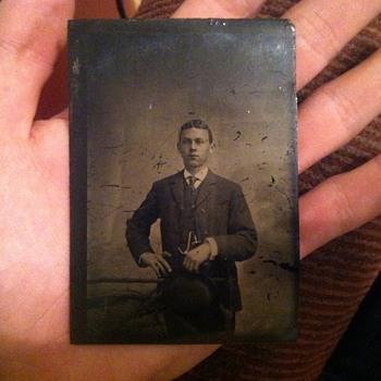 Tintype of young gentleman