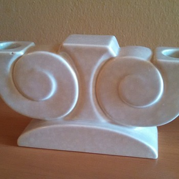 Art Deco Poole Pottery Candle Holder - Art Deco