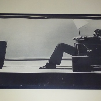 "original MAXELL TAPE ""blown away guy"" poster"