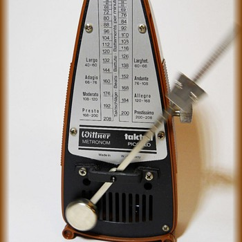Vintage TAKTELL METRONOME - West Germany - Music Memorabilia