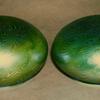 QUEZAL ART GLASS BOUDOIR LAMP SHADES