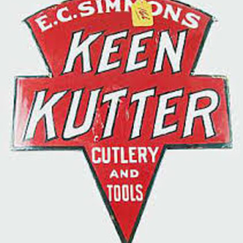 Keen Kutter Dealer Signs