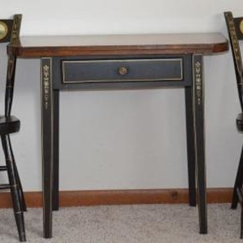 Bicentennial (Produced in 1976) table and chairs