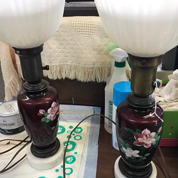 Antique lamps  - Lamps