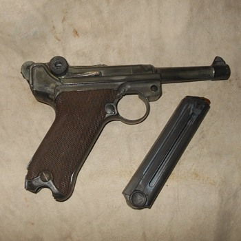 Weapons Wednesday World War II Realistic Plastic Replica Luger - Military and Wartime