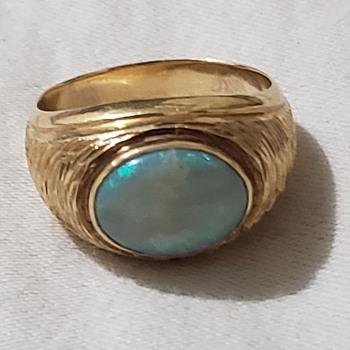 Men's gold ring - MG Maker's Mark? - Fine Jewelry