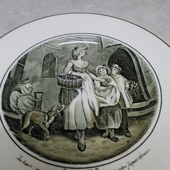 CRIES OF LONDON ADAMS CHINA PLATES  - China and Dinnerware