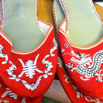 Oriental Slippers - Asian