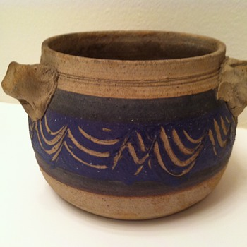Studio Pottery Pot - Pottery