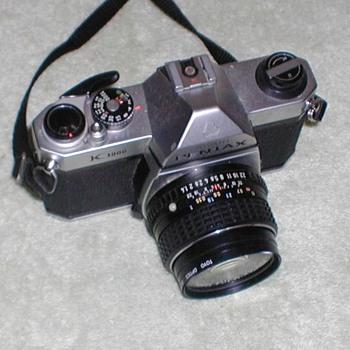Pentax Asahi K1000 35mm Camera