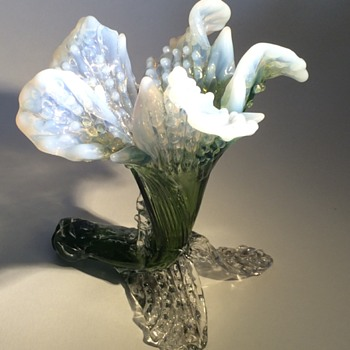 Kralik Floriform Vase - Art Glass