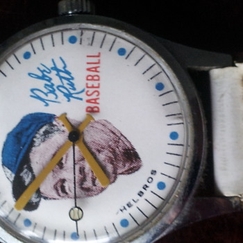 Babe Ruth Wrist Watch - Wristwatches