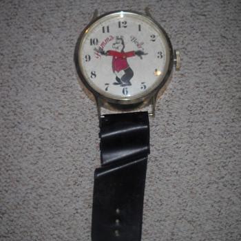 Hamm's Hanging Wristwatch Clock (Not Mine) - Wristwatches
