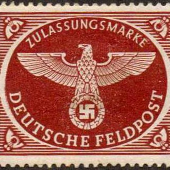1942 - Germany Military Parcel Post Stamp - Stamps