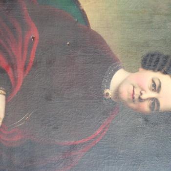 Mystery Lady Portrait