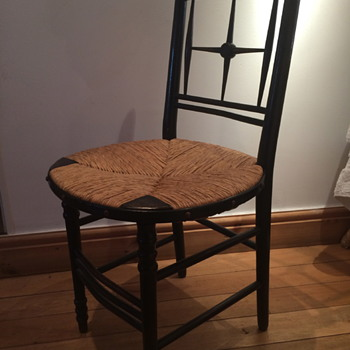 William Morris Sussex Chair by Ford Maddox Brown - Arts and Crafts