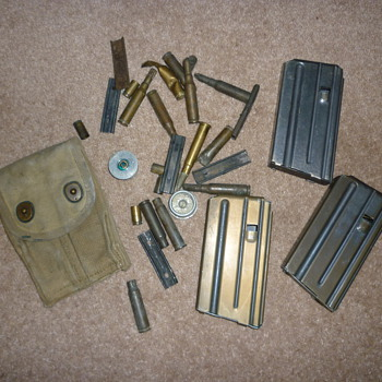 Rubbish dump finds - Military and Wartime