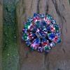 A Present From Malva....Rainbow Glass Brooch