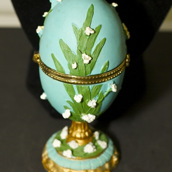 Colourful Egg trinket box - Fine Jewelry