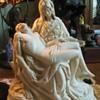 """Pieta statue 9"""" X 9"""" SMC 1964 copyright symbol?"""
