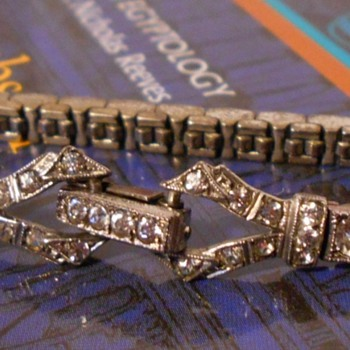 Art Deco Sterling Bracelet - Art Deco