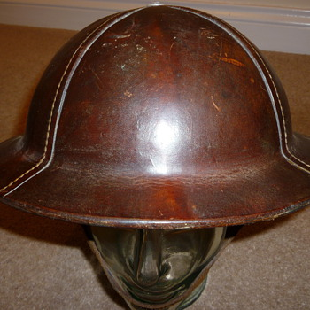 WW11 Leather helmet