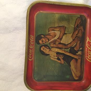 Coca-cola 1934 tray - Coca-Cola