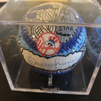 Bobby Murcer Fazzino Art Baseball - Baseball