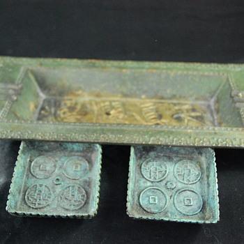Asian Cast Iron Tray ?