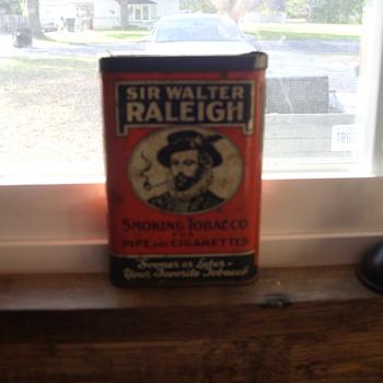 sir walter raleigh tin