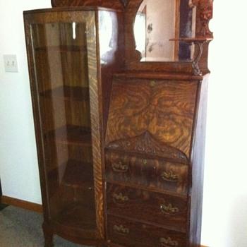 Oak Secretary - Furniture