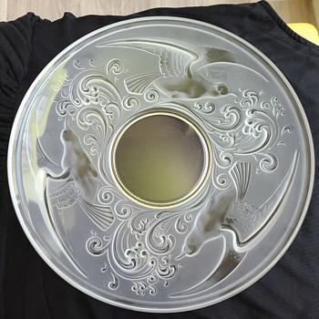 St. Lambert Platter - Art Glass